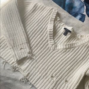Forever 21 distressed sweater NWOT